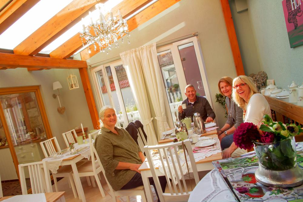 Hofgarten Rosa Gästezimmer Ilbesheim Südliche Weinstrasse Einblicke 13