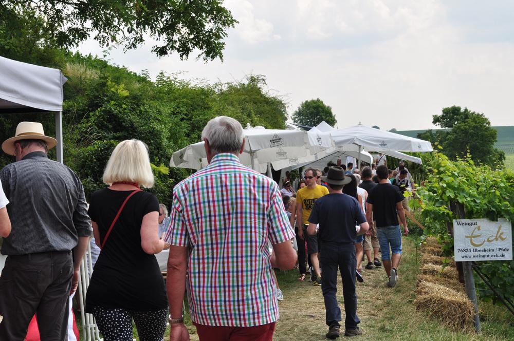 Hofgarten Rosa Gästezimmer Ilbesheim Südliche Weinstrasse Kalmitweinfest 3